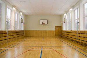 спортивный зал школы 1533